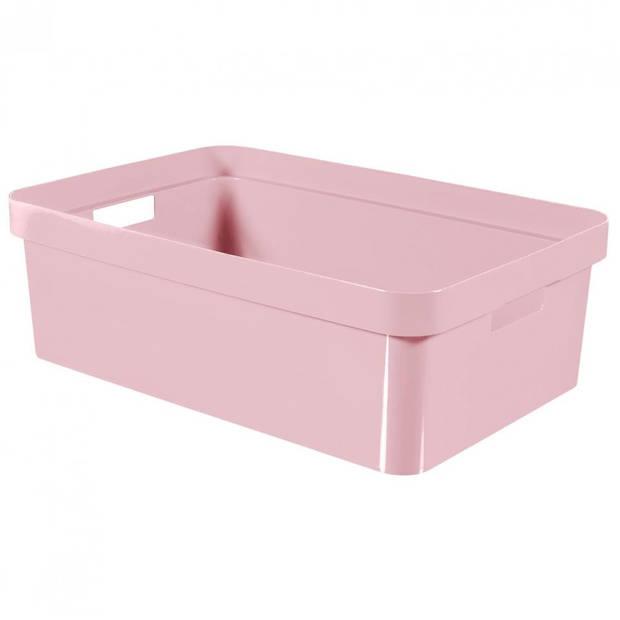 Curver Infinity box - 30 liter - roze