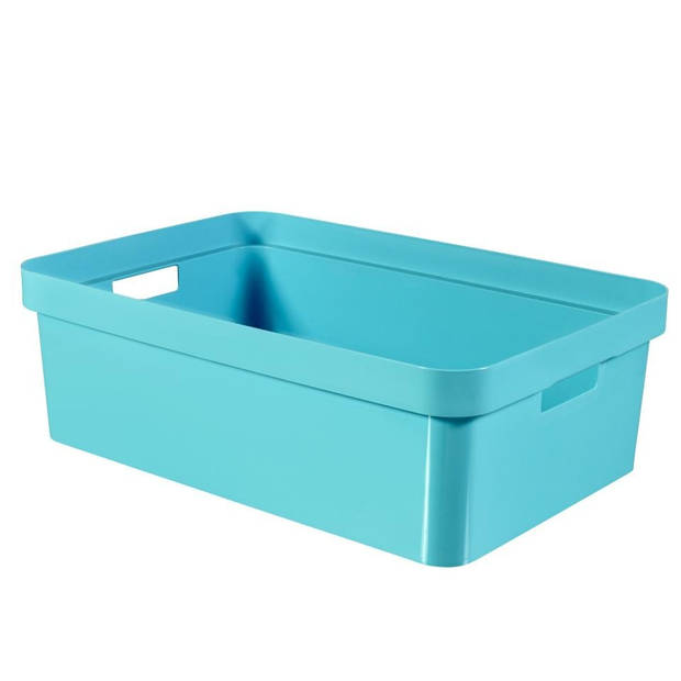 Curver Infinity box - 30 liter - blauw