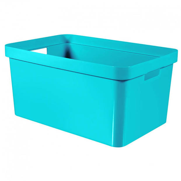 Curver Infinity box - 45 liter - blauw