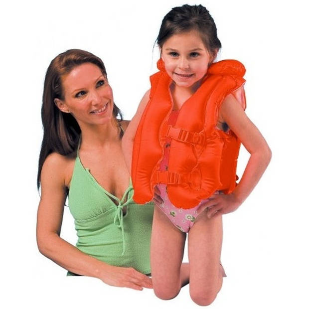 Intex opblaasbaar zwemvest 3-6 jaar oranje