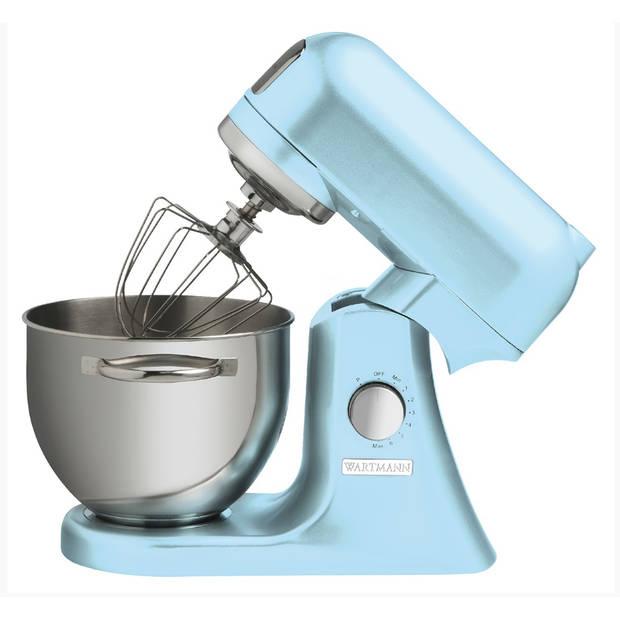 Keukenmachine 4,5 liter wm-606 mxr- blauw - wartmann