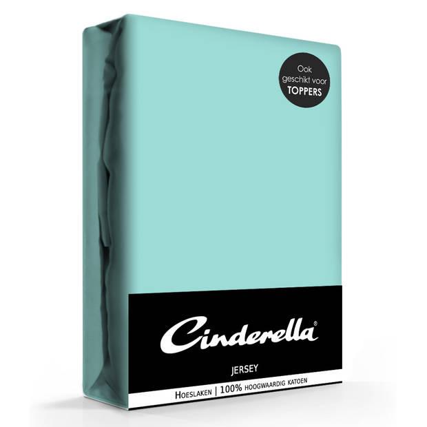 Cinderella jersey hoeslaken mineral-200 x 200 cm