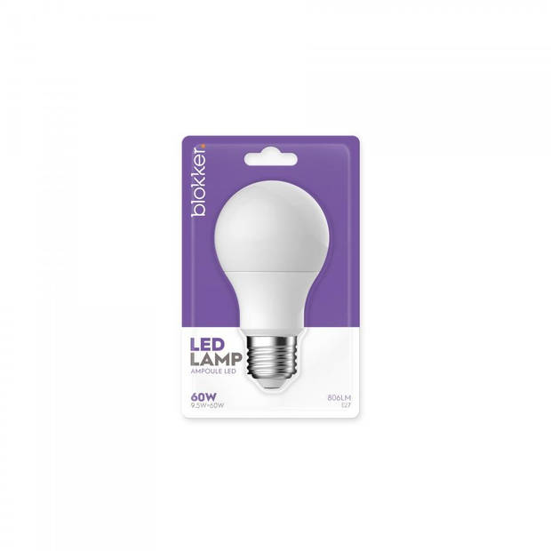 Blokker LED Bulb A60 60WE27 Mat