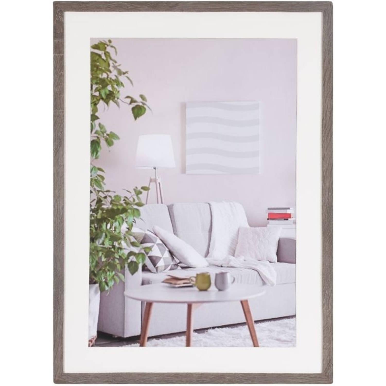 Henzo Modern - Fotolijst - 50x70 cm - Fotoformaat 50x70 / 40x60 cm - Donker Grijs