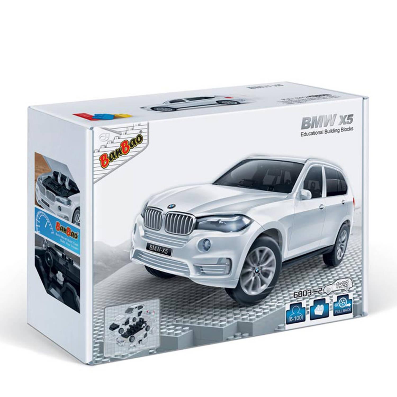 Afbeelding van BanBao BMW 535GT - 6805-2 - wit