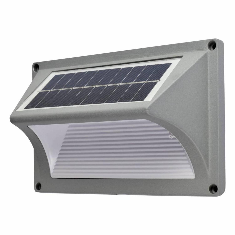 O'daddy Castor Solar Tuinverlichting - Wandlamp Met 20 Lumen - Alu
