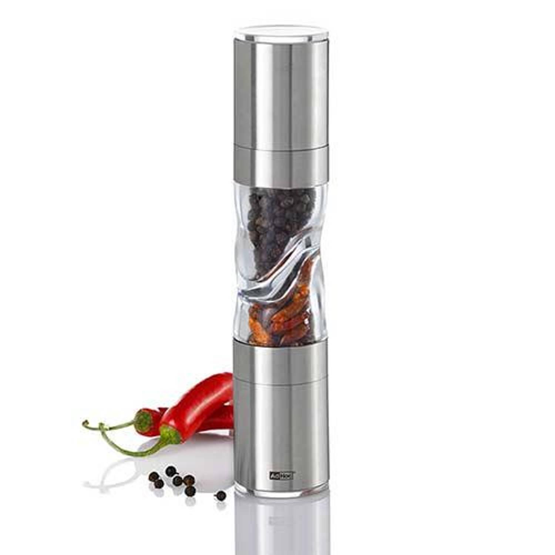 Afbeelding van Duospice zout-/pepermolen, 22cm - AdHoc