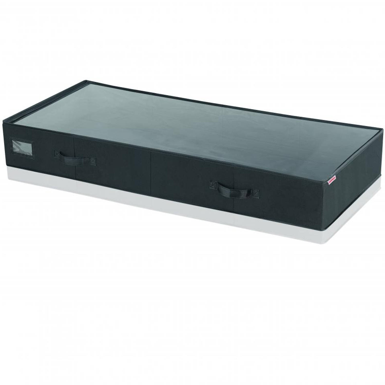 Leifheit onderbedbox groot- zwart