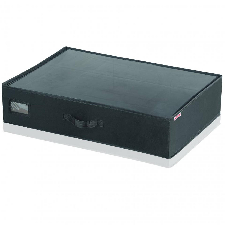 Leifheit onderbedbox klein - zwart