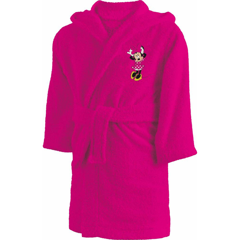 Disney coeur - badjas - 6/8 jaar - roze