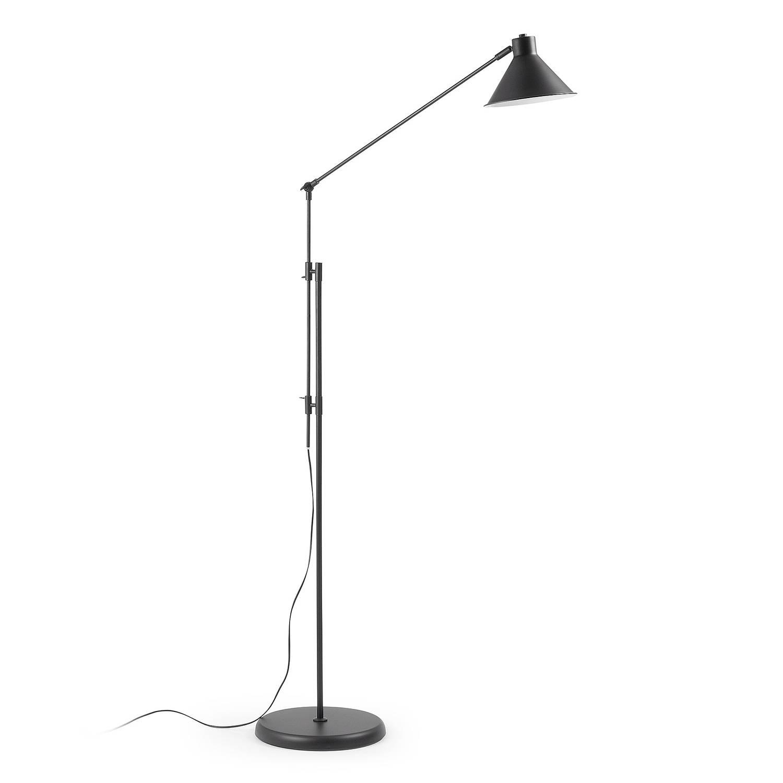 Laforma - odine vloerlamp - zwart