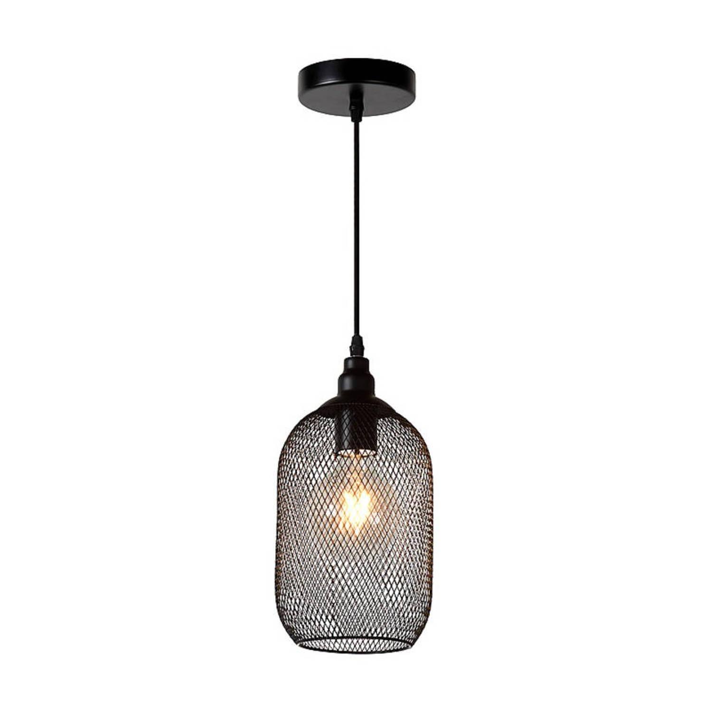 Lucide - mesh hanglamp - zwart