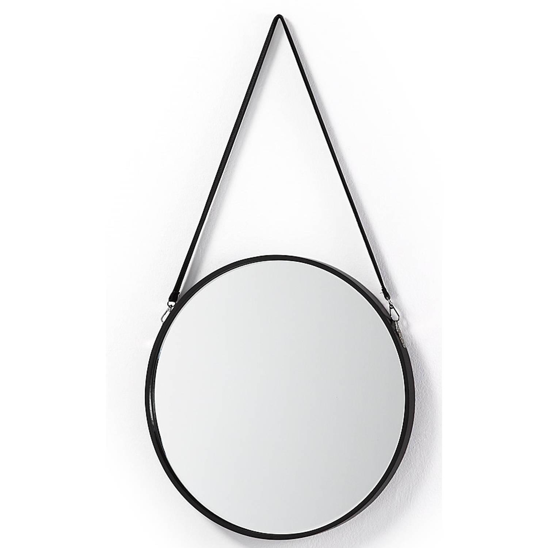 Laforma eertrin spiegel zwart blokker for Blokker spiegel