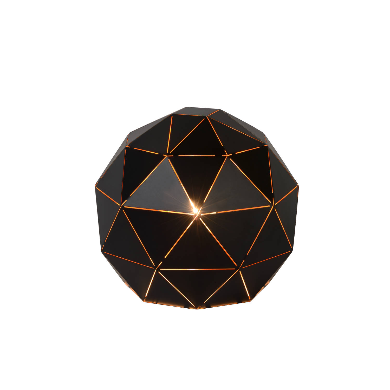 Lucide - otona tafellamp 25cm - zwart