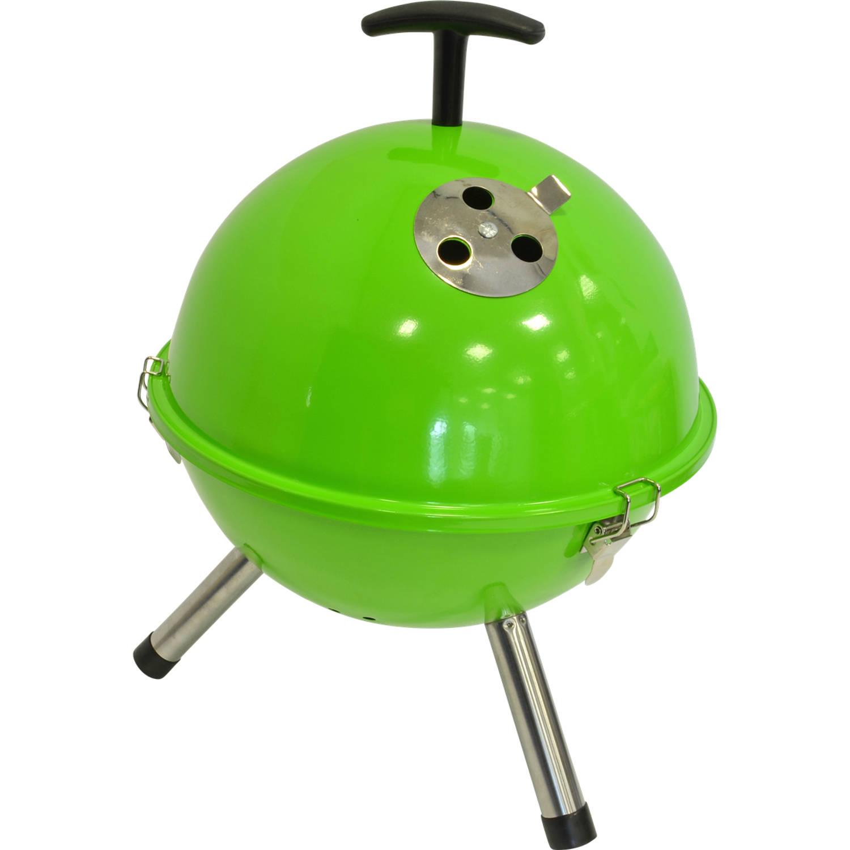 Kogelbarbecue groen