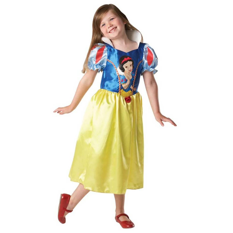 f4321bad07f089 Sneeuwwitje jurk disney kind™ - maat   leeftijd  98-104   3-4 jaar ...