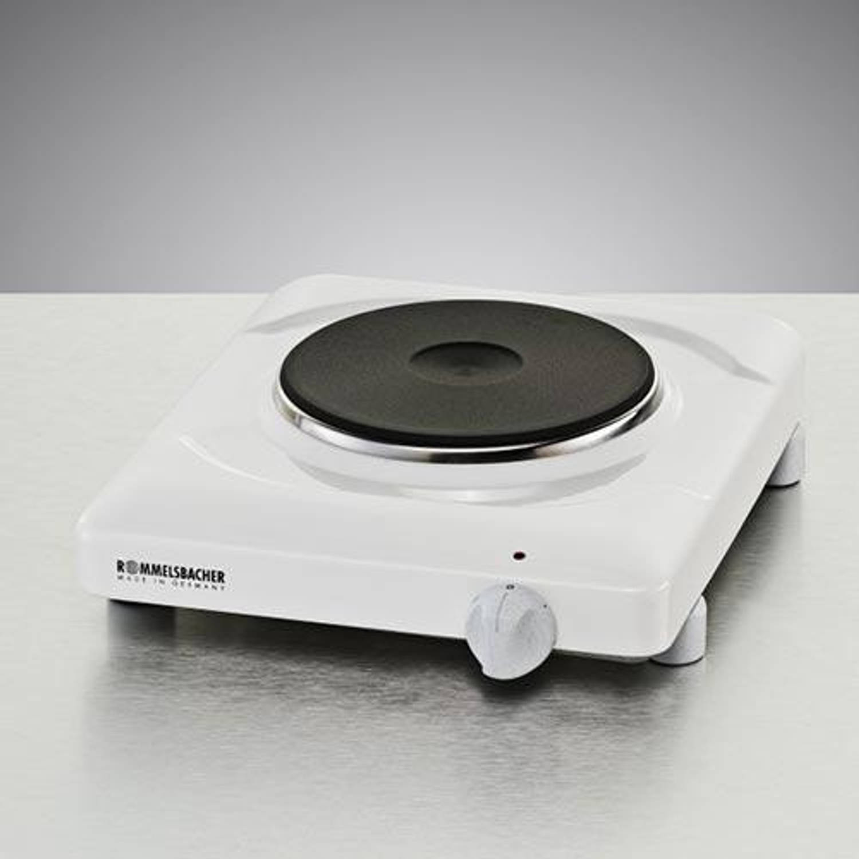 ROMB komfoor THS, wit emaille, (hxbxd) 7x28x31.5cm, 1 kookplaatsen