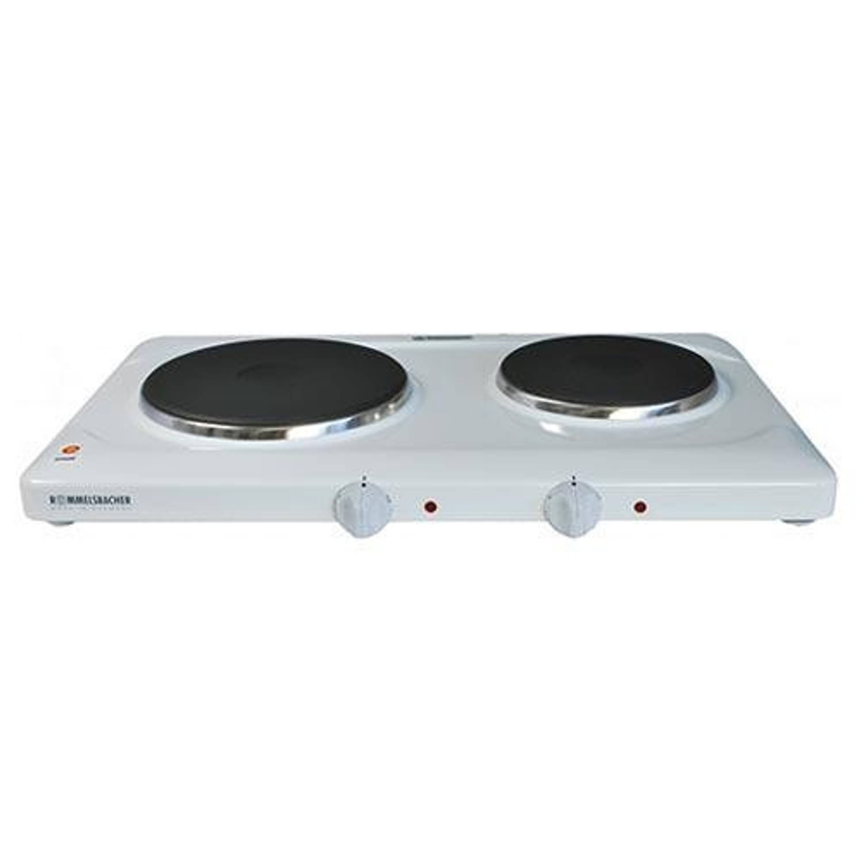 Komfoor THL2597/A Elektrische kookplaat, 2-pits - Rommelsbacher