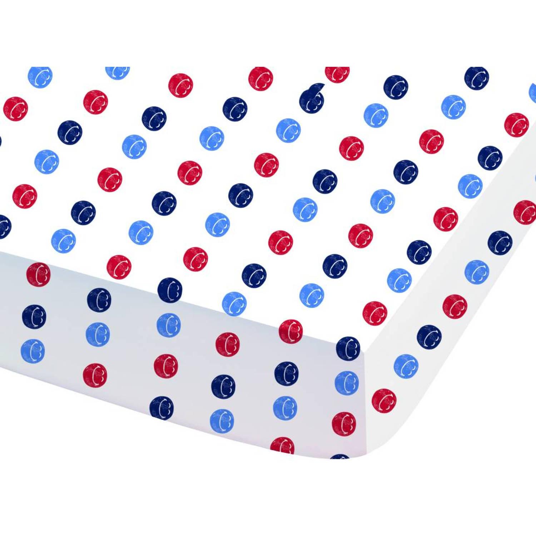 Positive - Hoeslaken - Eenpersoons - 90 x 190 cm - Multi