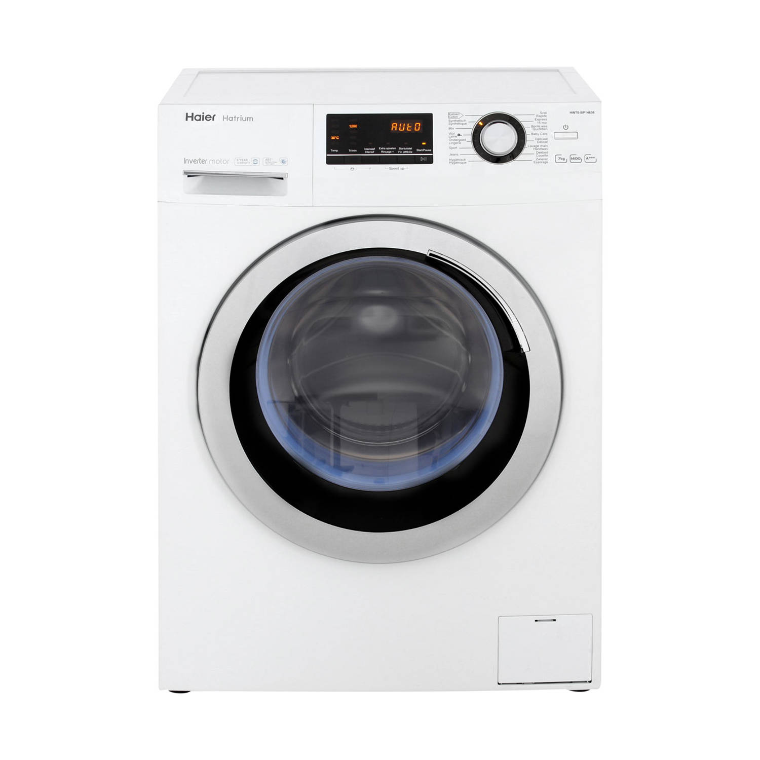 Haier HW70-BP14636 wasmachines - Wit