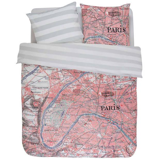 Covers & co dekbedovertrek paris citymap-140x200/220