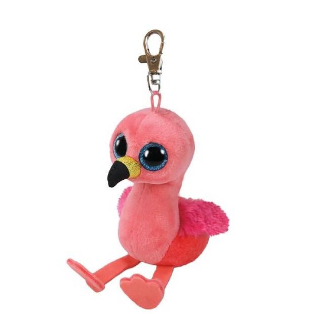 Ty sleutelhanger Beanie Boo Gilda 12 cm roze