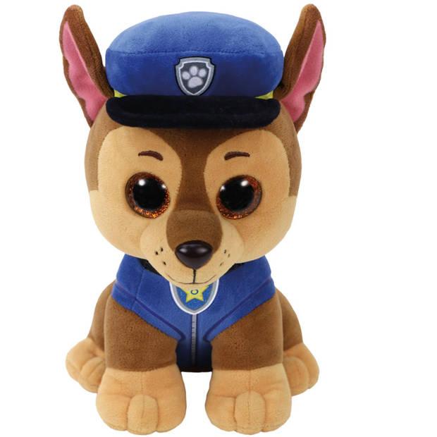 Ty Beanie Boo's PAW Patrol knuffel Chase - 24 cm