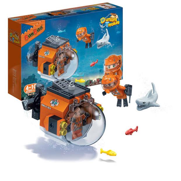 BanBao Duncan's Treasure verkennings onderzeeër 7417