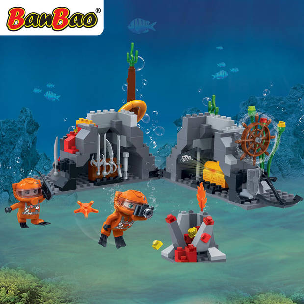 BanBao Duncan's Treasure onderzeese schatkamer 7415