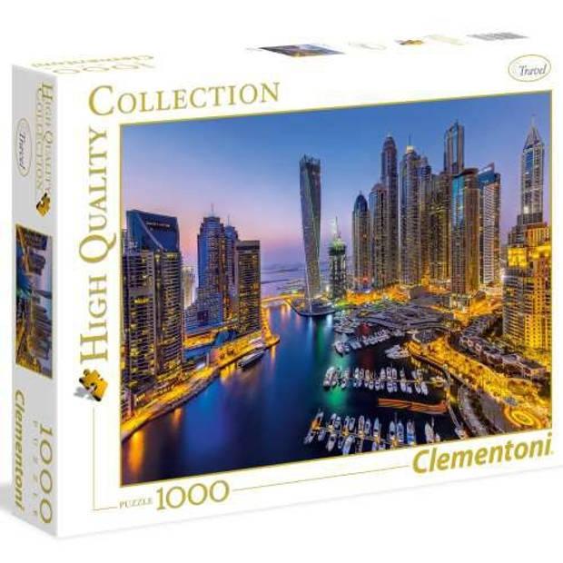 Clementoni Puzzel Dubai 1000 stukjes