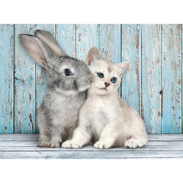 Clementoni legpuzzel High Quality Cat&Bunny 500 stukjes
