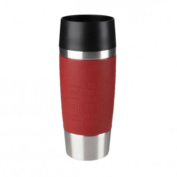 Tefal Isoleerbeker - 0,36 L - RVS - rood