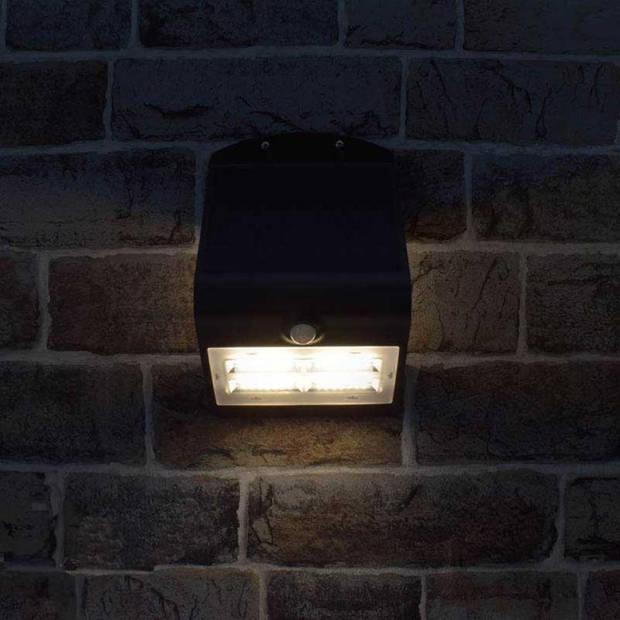 O'daddy solar wandlamp alhena zwart