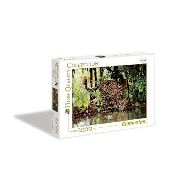 Clementoni legpuzzel Panorama Luipaard 2000 stukjes
