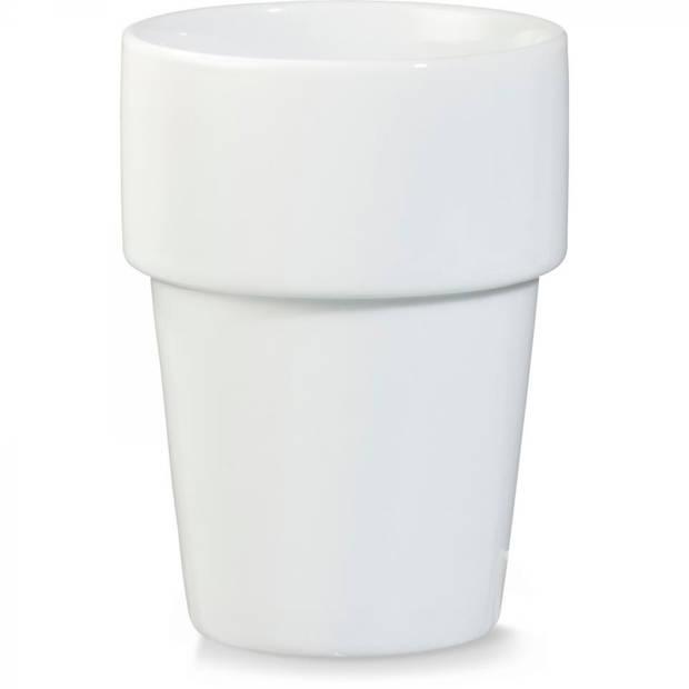 Blokker melkbeker - stapelbaar - 270 ml