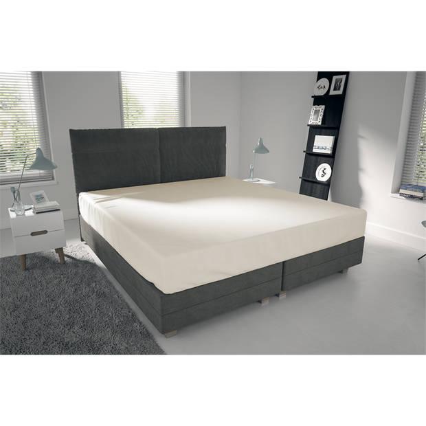 Nightlife Jersey Hoeslaken Ecru-80/90 x 200 cm
