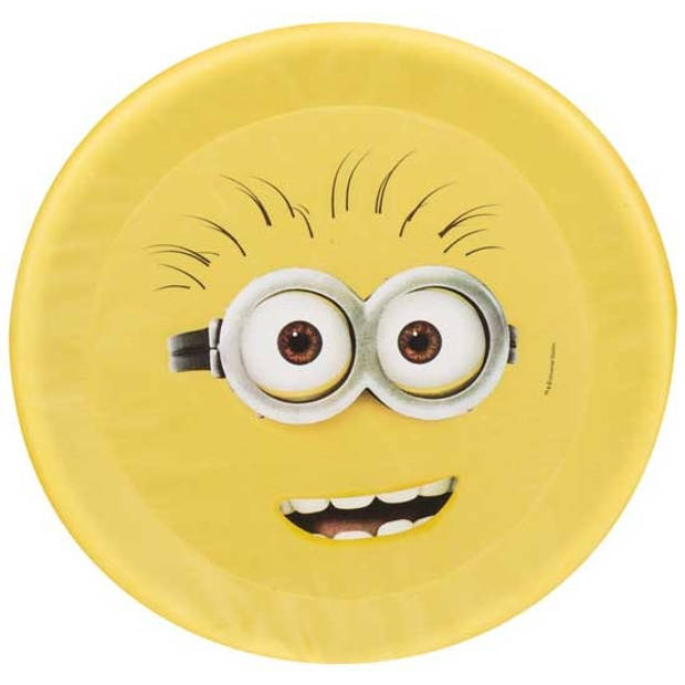 Sambro Minions frisbee Phil foam geel 42 cm