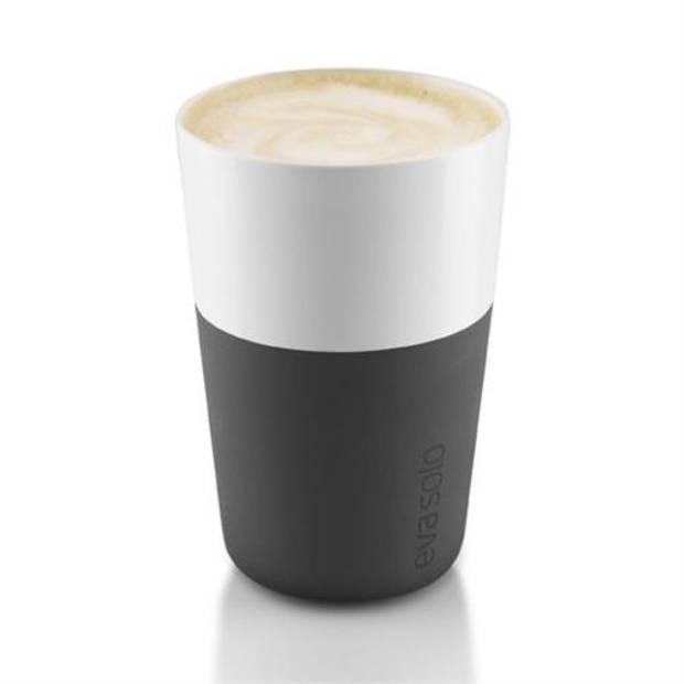 Latte macchiato mokken , set van 2 Carbon black - Eva Solo