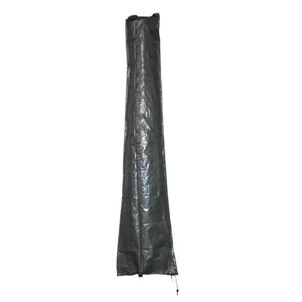 Sunburst - parasol beschermhoes met stok - grijs