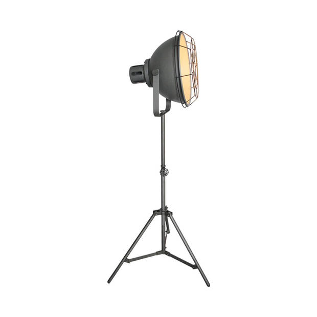 Label51 - vloerlamp max burned steel - grijs