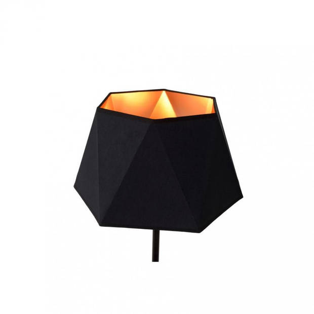 Lucide - alegro vloerlamp - zwart