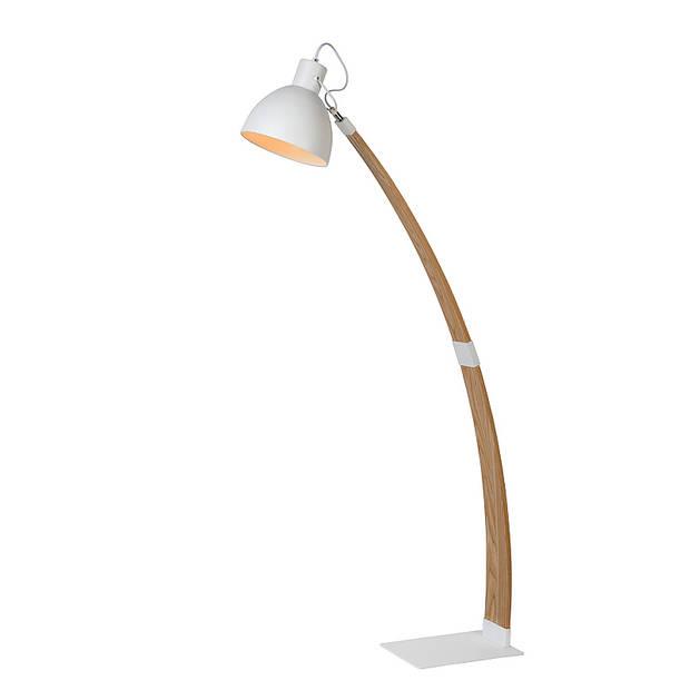 Lucide - curf vloerlamp - wit