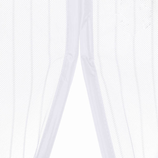 O'DADDY vliegengordijn deur magnetisch- 92x230 cm - wit