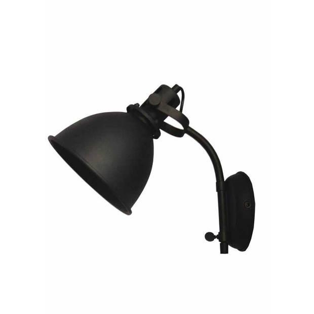 Label51 - wandlamp spot - zwart