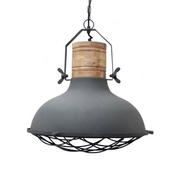 Label51 - hanglamp grid - grijs