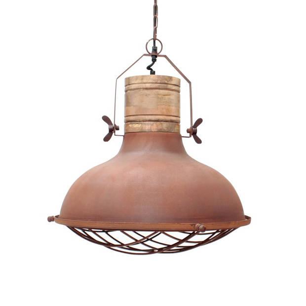 Label51 - hanglamp grid rust - koper