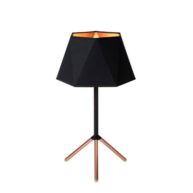 Lucide - alegro tafellamp 32cm - zwart