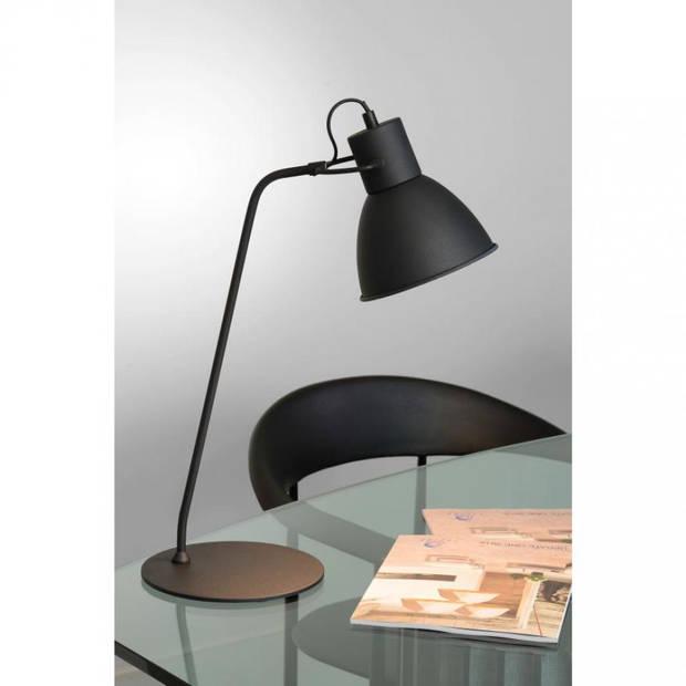 Lucide - shadi bureaulamp - zwart