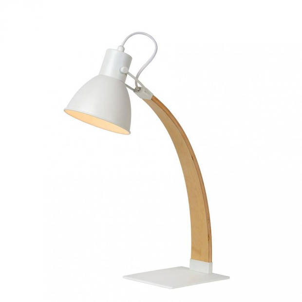 Lucide - curf bureaulamp - wit