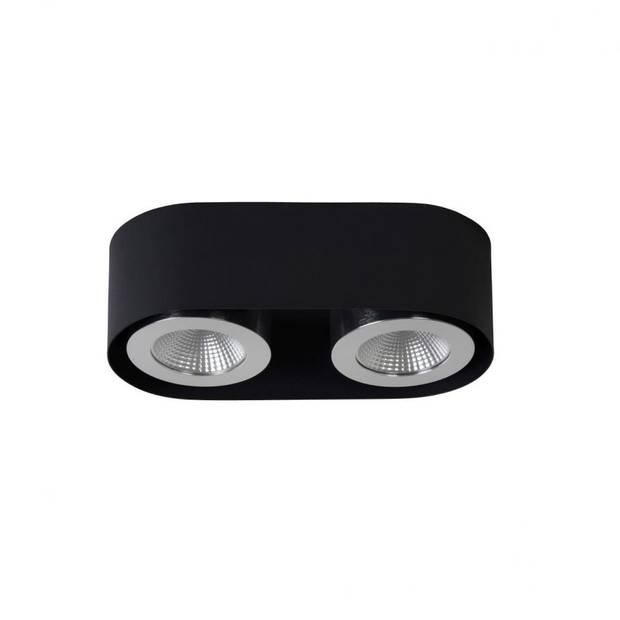 Lucide - radus 2 plafondlicht - zwart